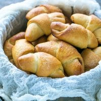 Easter Bread Horn Rolls With Rose Hip Jam Recipe