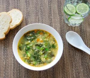 Spinach-Egg-Drop-Soup-Healthy-Easy-Bulgarian-Eastern-European-Recipe
