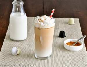 Iced-latte-vanilla-homemade-using-nestpresso-machine-capsules-coffee-machine-luxury