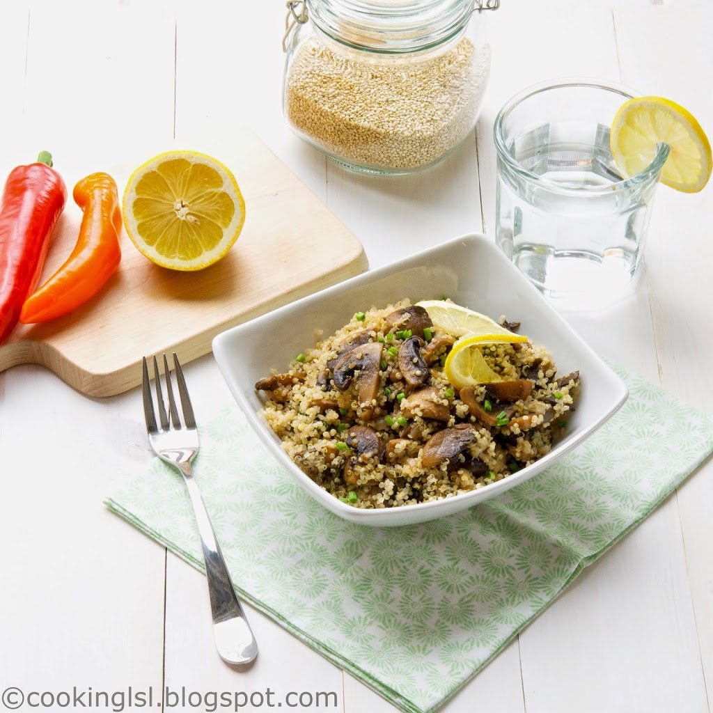 healthy-easy-quinoa-with-mushrooms