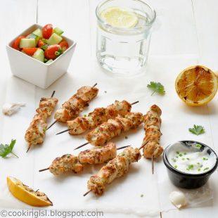 grilled-Marinated-Chicken-Skewers