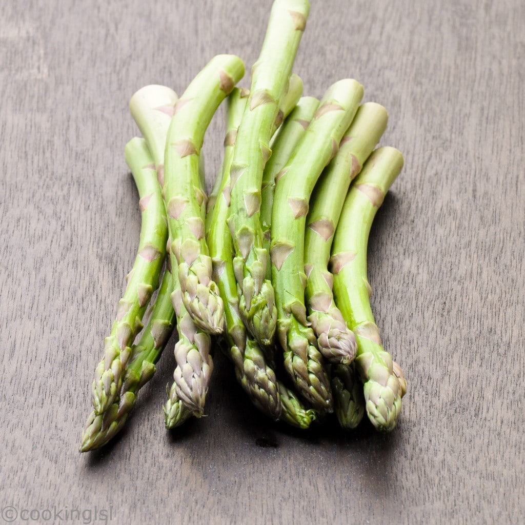 Asparagus With Dijon Mustard Sauce And Chopped Hard Boiled ...