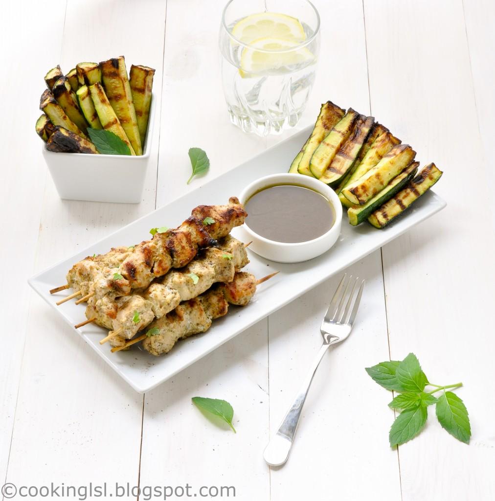 grilled-pesto-marinated-mini-chicken-kebabs-skewers