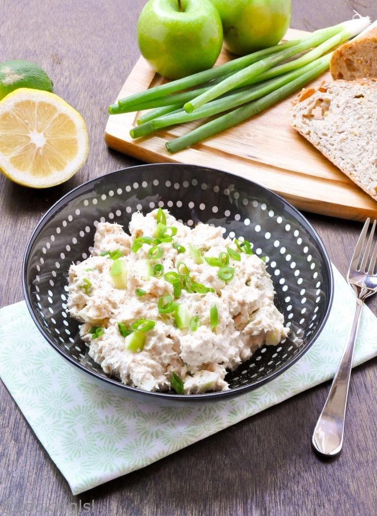 tuna-salad-green-apple-creamy-fluffy-crunchy