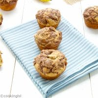 banana-Nutella-muffins-with-pecans