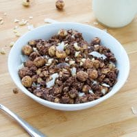 Chocolate-Coconut-Hazelnut-Quinoa-Granola-Vegan-Gluten-Free-Homemade