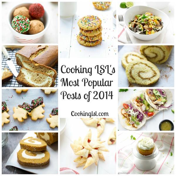 Top 10 Reader Favorite Recipes in 2014