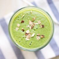 Apple Pear Green Smoothie Green Thickie