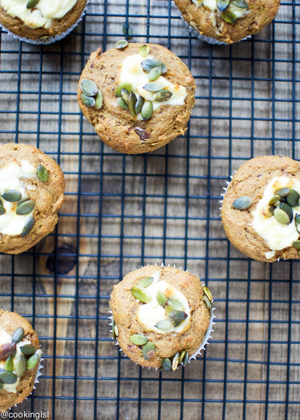 Naturally Sweetened Pumpkin Cream Cheese Muffins Whole Wheat Dated