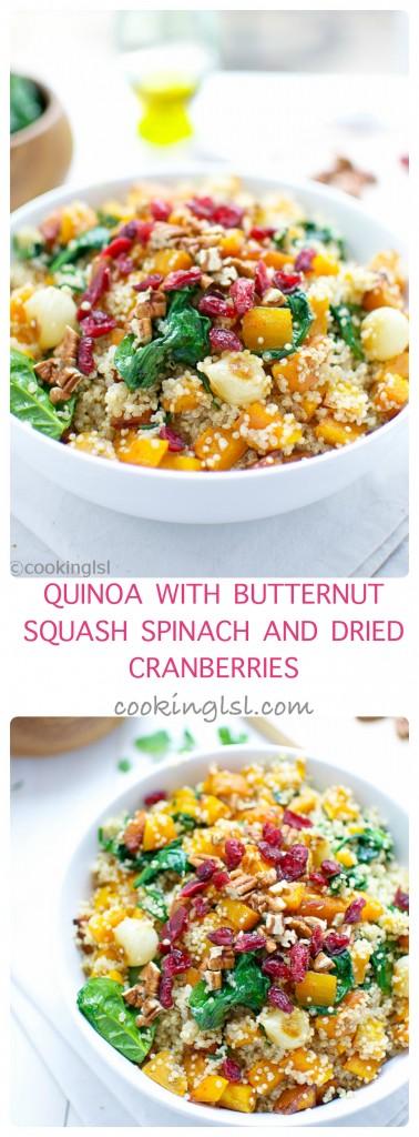 quinoa-butternut-squash-spinach-dried-cranberries