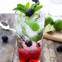 Refreshing Blackberry Mojito