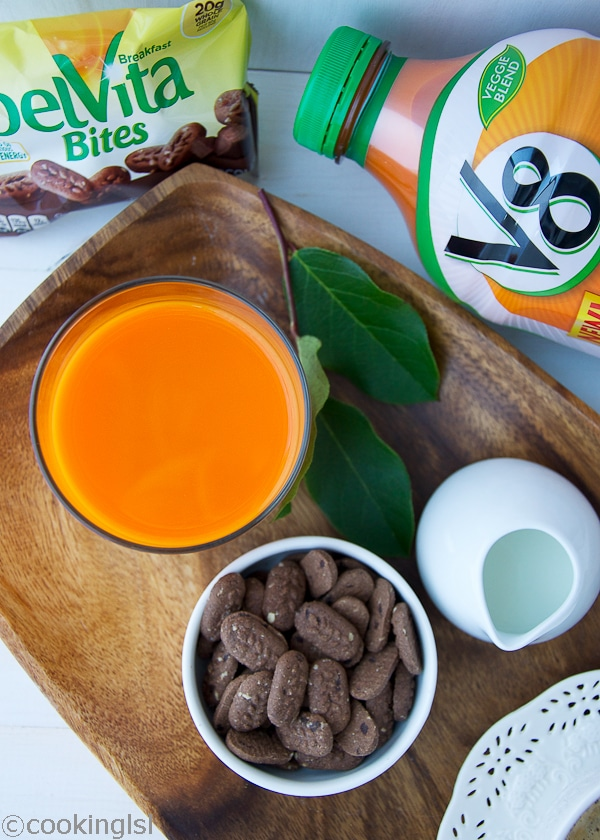 My New Morning Routine BelVita V8 Veggie Blends
