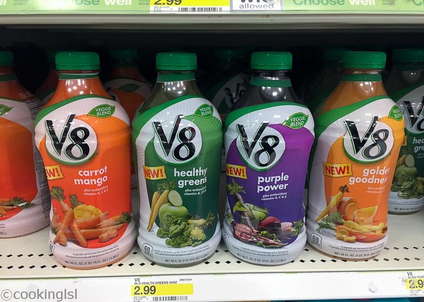 My New Morning Routine BelVita V8 Veggie Blends
