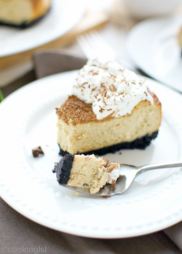 Tiramisu Cheesecake Easy Creamy Luscious Coffee Flavored