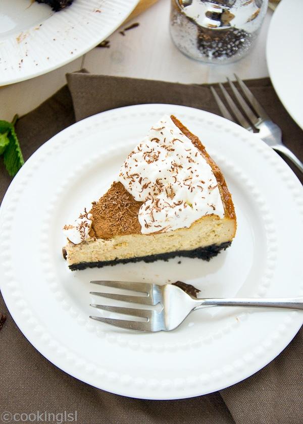Tiramisu Cheesecake Recipe delicius, easy, coffee flavored