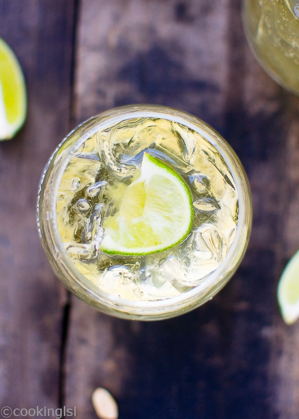 whiskey soda sprite drink