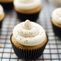 Light-yellow-cake-cupcakes-coffee-syrup-mascarpone-cream