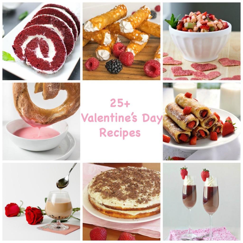 25+ Valentine's Day Recipes