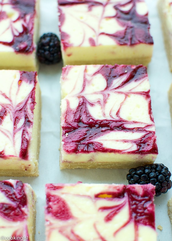 Blackberry-Swirl-Cheesecake-Bars-With-Shortbread-Crust