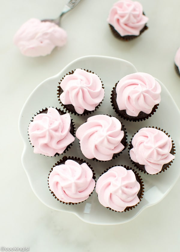 eggless chocolate cupcakes with 15-1
