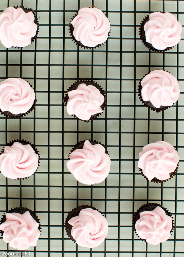 Mini-Chocolate-Cupcakes-With-Coconut-Cream-Frosting