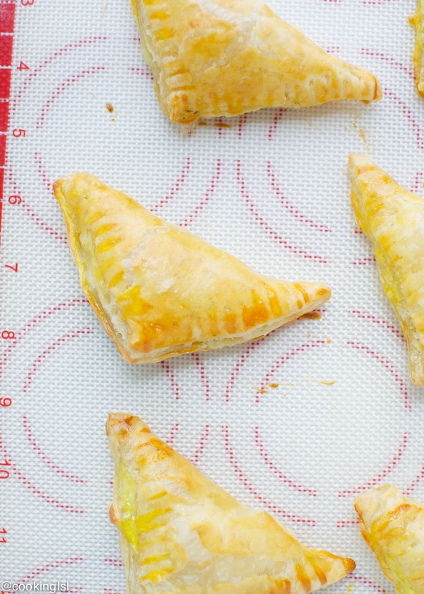 Puff-pastry-Triangles