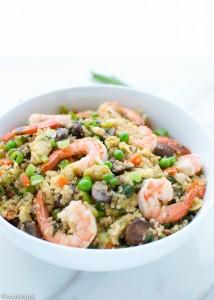 Shrimp-Fried-Quinoa-rice-asian-easy