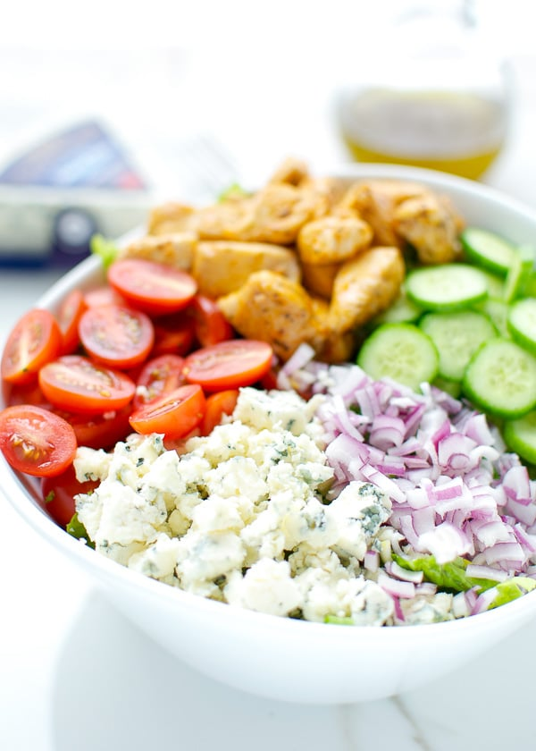 Buffalo-Chicken-And-Blue-Cheese-Salad
