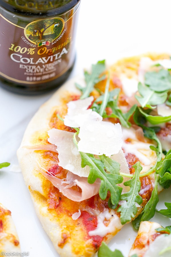 Prosciutto-And-Arugula-Pizza-With-Colavita-Italian-Summer-Grilling