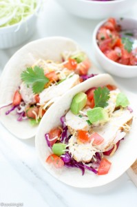 Tequila Lime Chicken Tacos Recipe
