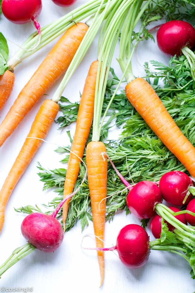 roasted-carrots-radishes-summer-savory