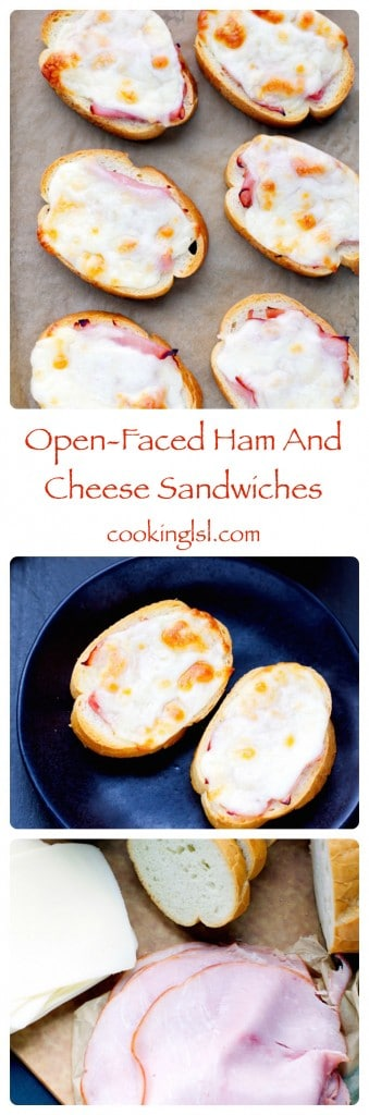 open-faced-ham-and-cheese-sandwiches