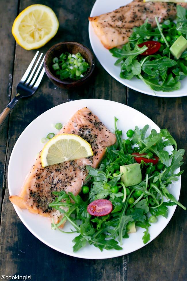 arugula-pea-avocado-salad0salmon