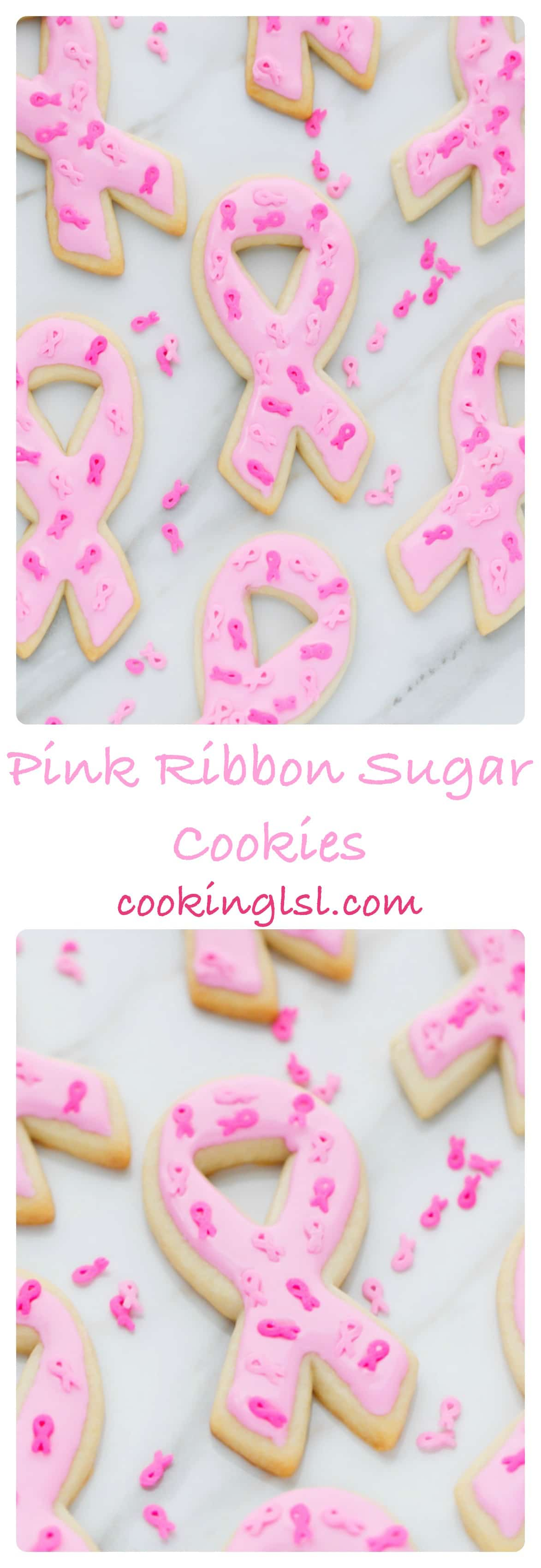 Pink-Ribbon-Sugar-Cookies -Breast-Cancer-Awareness