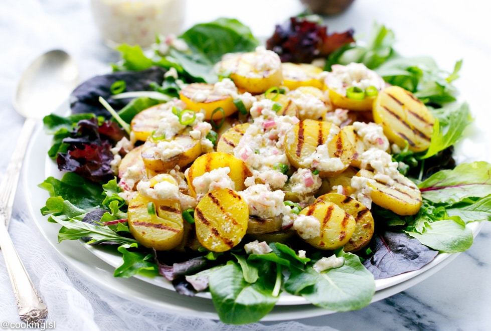 grilled-potato-salad-feta-vinaigrette