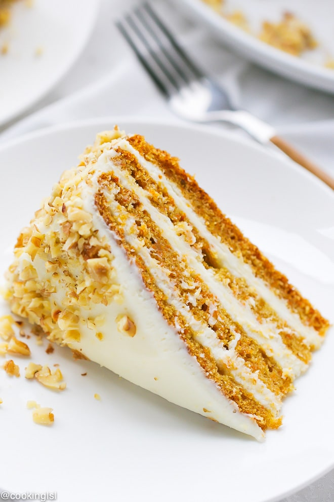 What Icing Goes On Carrot Cake