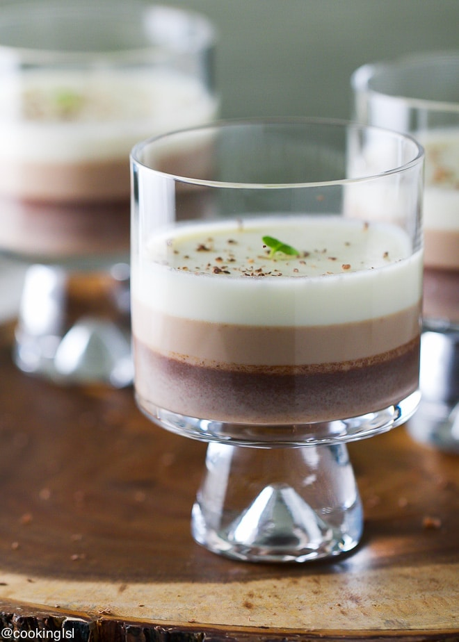 ... Chocolate Panna Cotta. It will also make a great Mother's Day