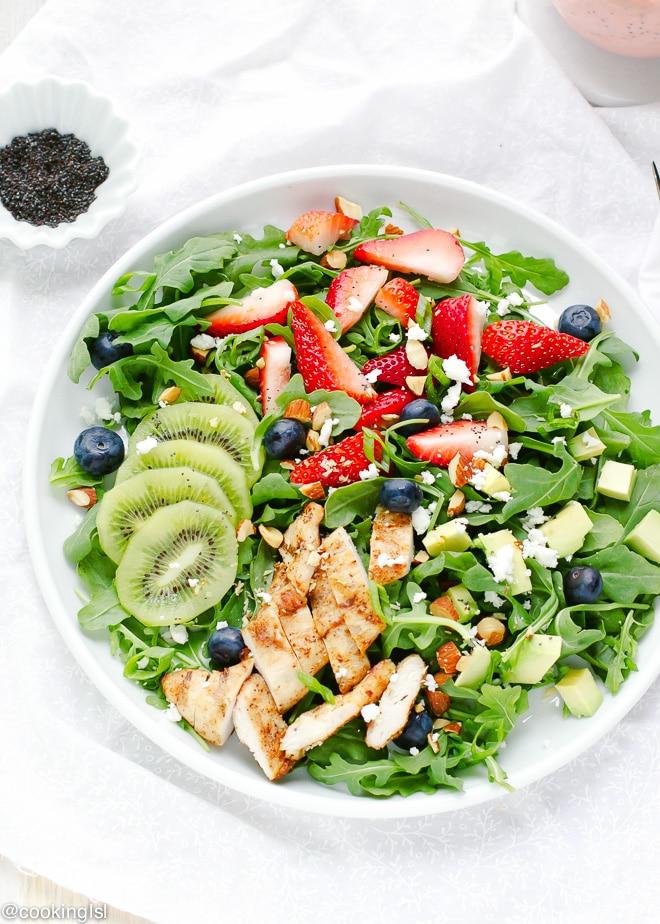 Strawberry-Arugula-Salad-With-Poppyseed-Dressing-Recipe