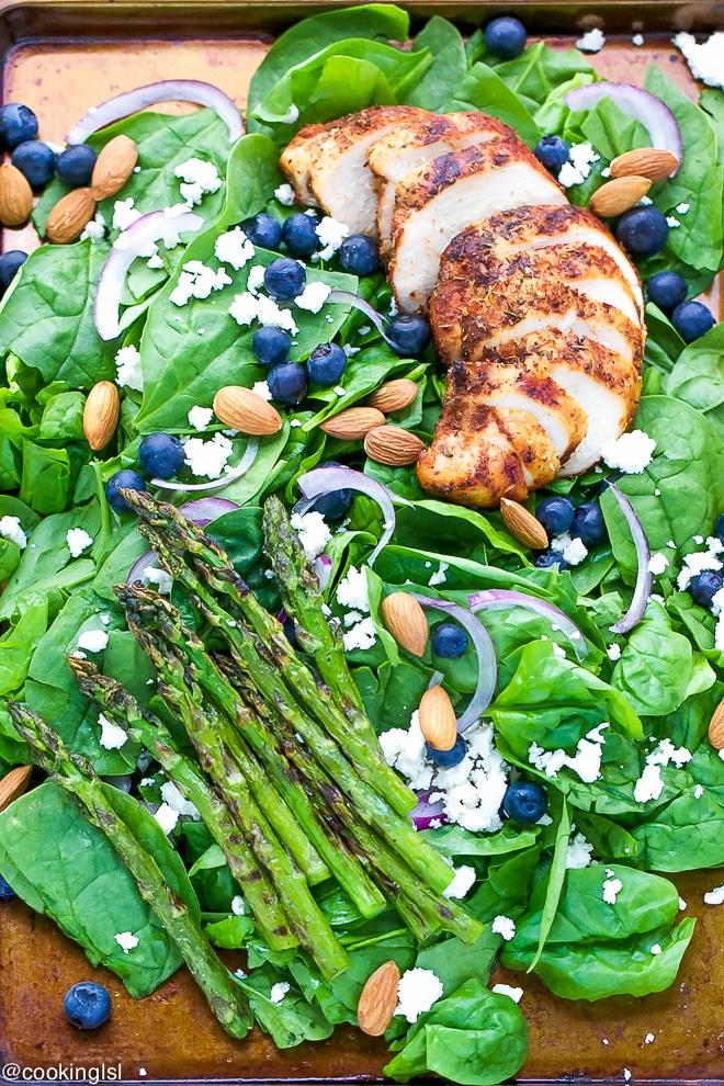 Blackened-Chicken-Spinach-Salad