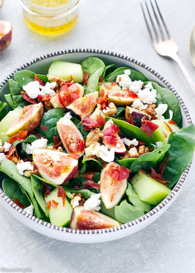 Spinach-Prosciutto-Honeydew-Fig-Salad-Recipe