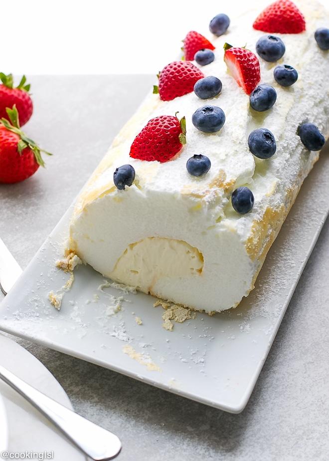 Pavlova-Cake-Roll-Recipe