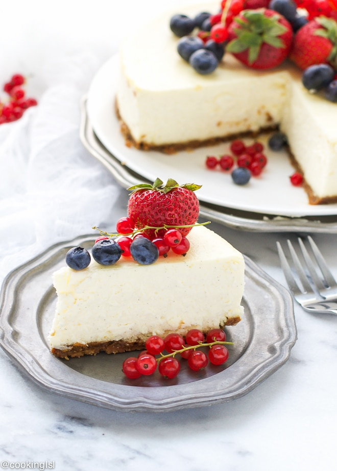 Vanilla-Bean-Cheesecake-With-Bischoff-Cookie-Crust-Recipe