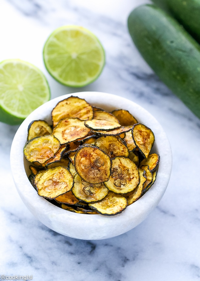 Chili-Lime-Zucchini-Chips-Recipe-Oven Baked