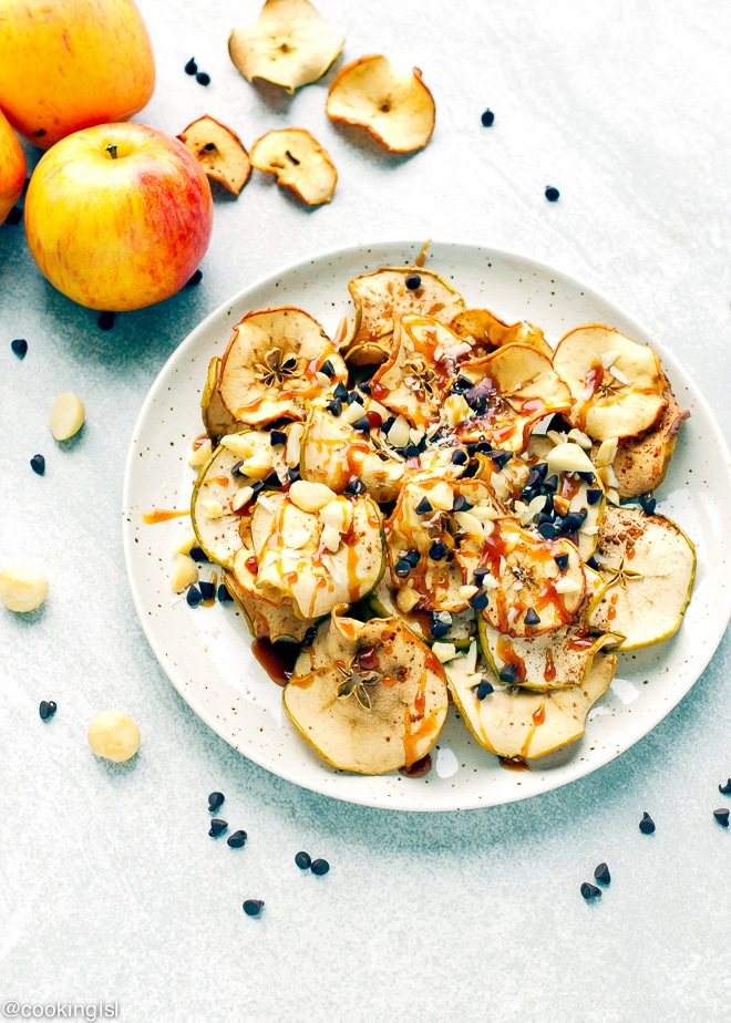 apple-chips-nachos-baked-recipe