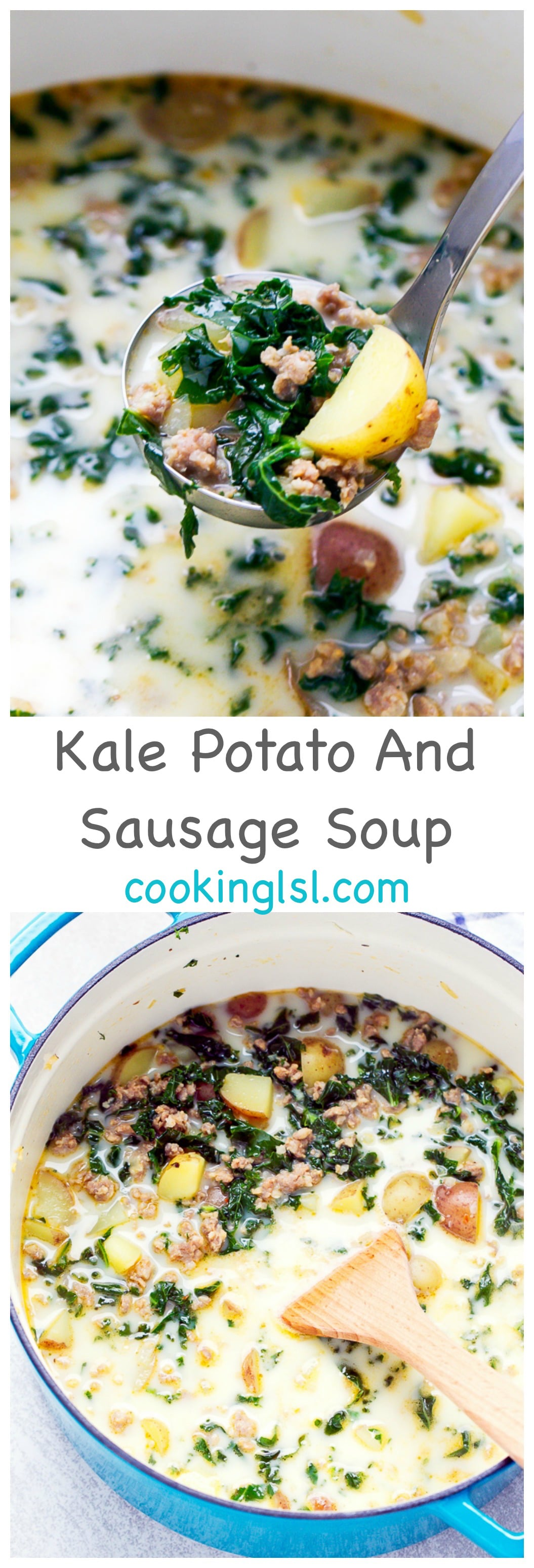 Easy kale potato and sausage soup recipe cooking lsl for Olive garden potato sausage kale soup recipe