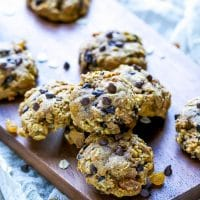 Pumpkin-Chocolate-Chip-Oatmeal-Raisin-Cookies-Recipe