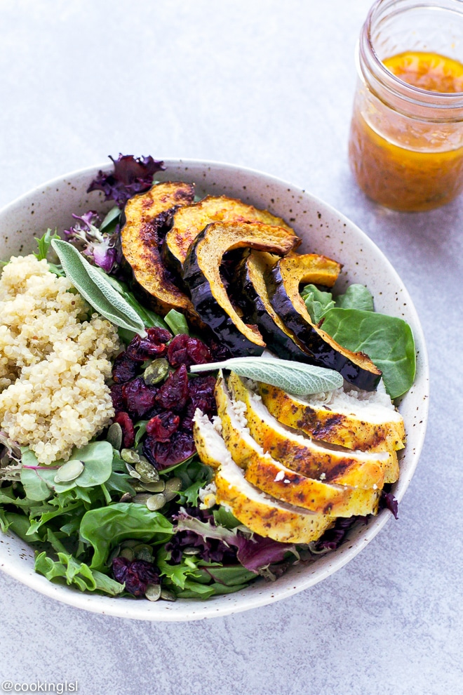 Grilled-Turmeric-Chicken-Salad-Recipe