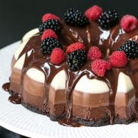 No-Bake-Three-Chocolate-Cake-Recipe