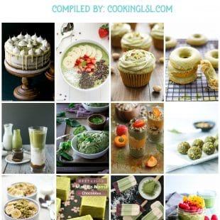 16 matcha recipes roundup . Baked goods, smoothies, gnocchi, desserts.