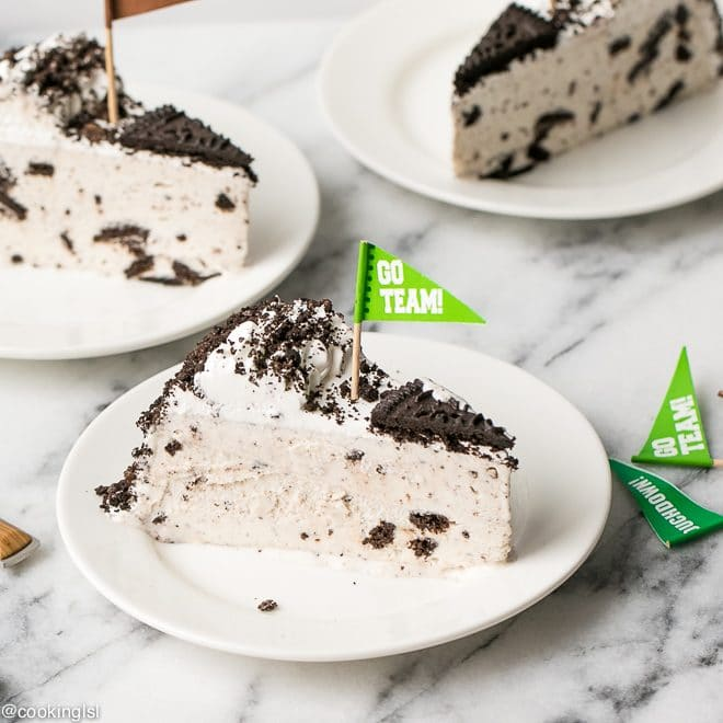 Oreo Ice Cream Cake from I Love Ice Cream Cakes For Big Game Day Celebration